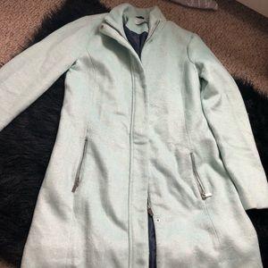 Green mint winter jacket 🧥